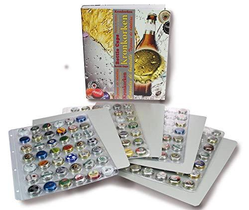 SAFE 7928 Album pour capsules de bouteilles | pour bouchons de bouteilles doccasion (feuilles ne sont pas incluses)| Format 32,5 x 29 x 6 cm