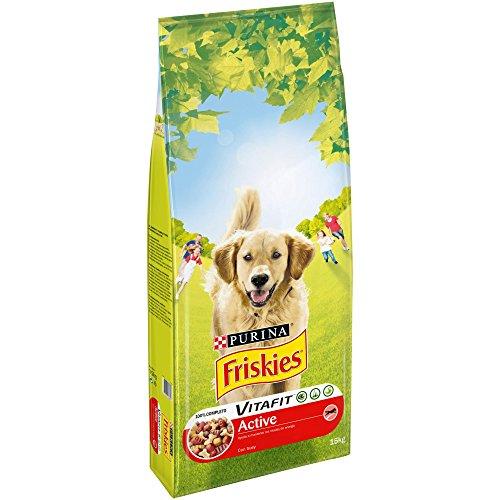 Purina Friskies Vitafit Active Pienso para Perro Adulto Buey 15 Kg