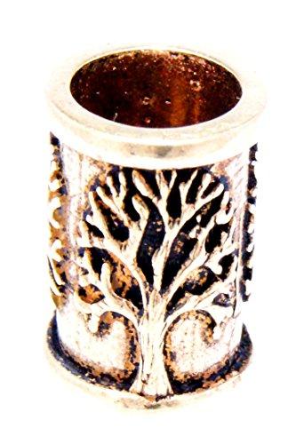 Bartperle Haarperle Bronze Lebensbaum 7mm