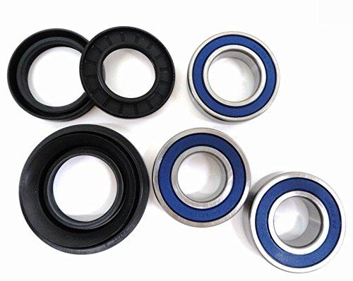 Rear Axle Wheel Bearing Seal Kit Compatible with Honda 2001-2014 TRX500 TRX 500 Foreman 500