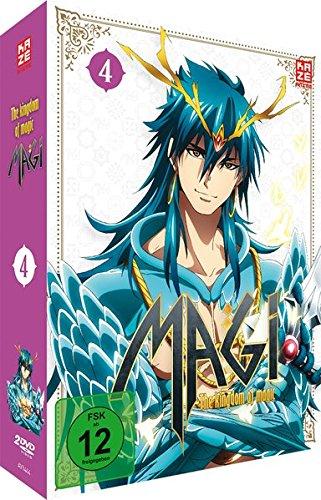 Magi: The Kingdom of Magic - Staffel 2 - Vol.4 - [DVD]