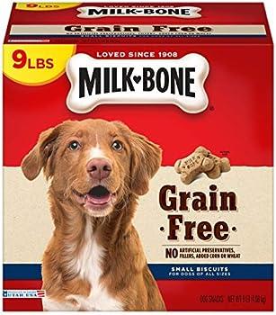 Milk-Bone 9-lb. Grain Free Dog Biscuits Box