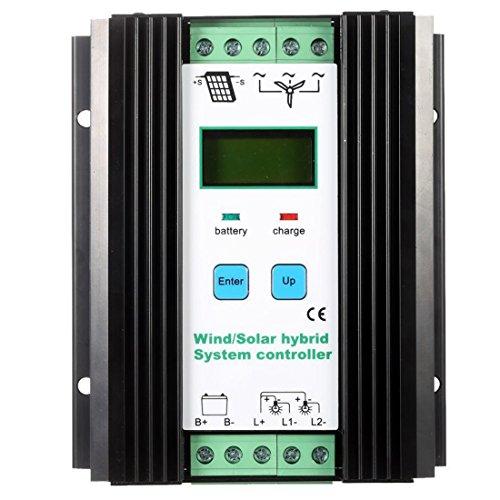 Facibom Wind&Solar Hybrid Pwm Controller (600W Wind 400W Solar) 12V / 24V Automatisch