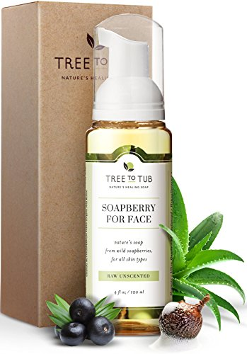 Unscented Sensitive Skin Face Wash by Tree To Tub - Gentle Face Wash - pH 5.5 Balanced Gentle Cleanser - Face Wash for Sensitive Skin 4oz