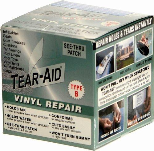 Two-M v.o.f. Tear-Aid Type B reparatieset, rol vinyl pvc, reparatie reparatie van reparatieset