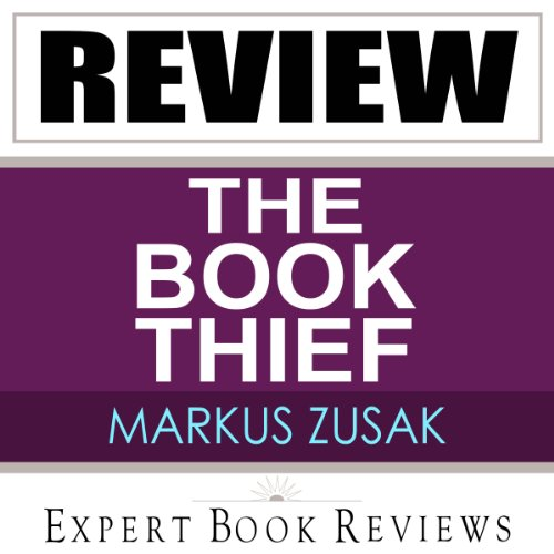 The Book Thief: by Markus Zusak - Review cover art