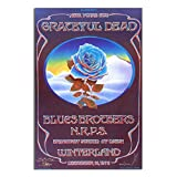 Grateful Dead Closing of Winterland Poster Decorative Painting Canvas Wall Art Living Room Posters Bedroom Painting Unframe-X1 16×24inchs(40×60cm)