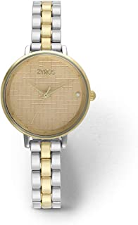 ZYROS Wristwatch for Women, Metal, ZAA080L060607
