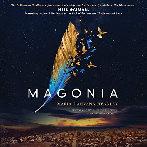 Magonia audiobook cover art