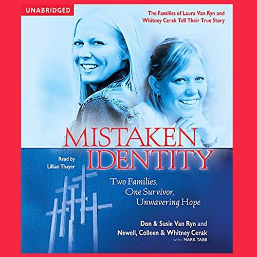 Mistaken Identity audiobook cover art