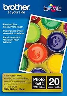 Brother BP71GP20 Glossy Inkjet Paper20 Sheets4-Inch x 6-InchRetail Packaging (B001UIHTFA) | Amazon price tracker / tracking, Amazon price history charts, Amazon price watches, Amazon price drop alerts