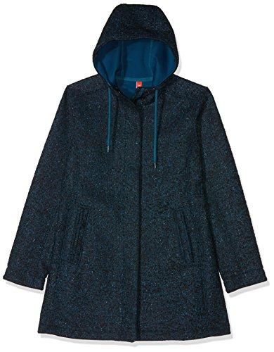 Tatonka Damen Jemma W's Coat Mantel, Dark sea Blue, 42