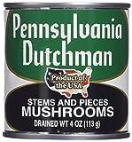 Pennsylvania Dutchman Canned Mushrooms - 12/4 oz. cans...