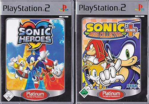 PS2: Sonic Mega Collection Plus + Sonic Heroes