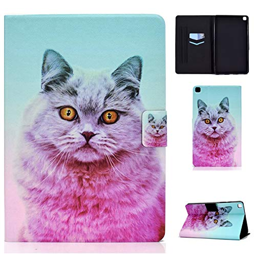 WHWOLF Suitable for Samsung Galaxy Tab A 8.0' 2019 Case (SM-T290/T295) Tablet PU Leather Folio Protective Cover with Multiple Viewing Angles -sd34