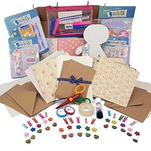Craft starter kit - Card making - hobby kit - paper crafts by MrsCraftyP
