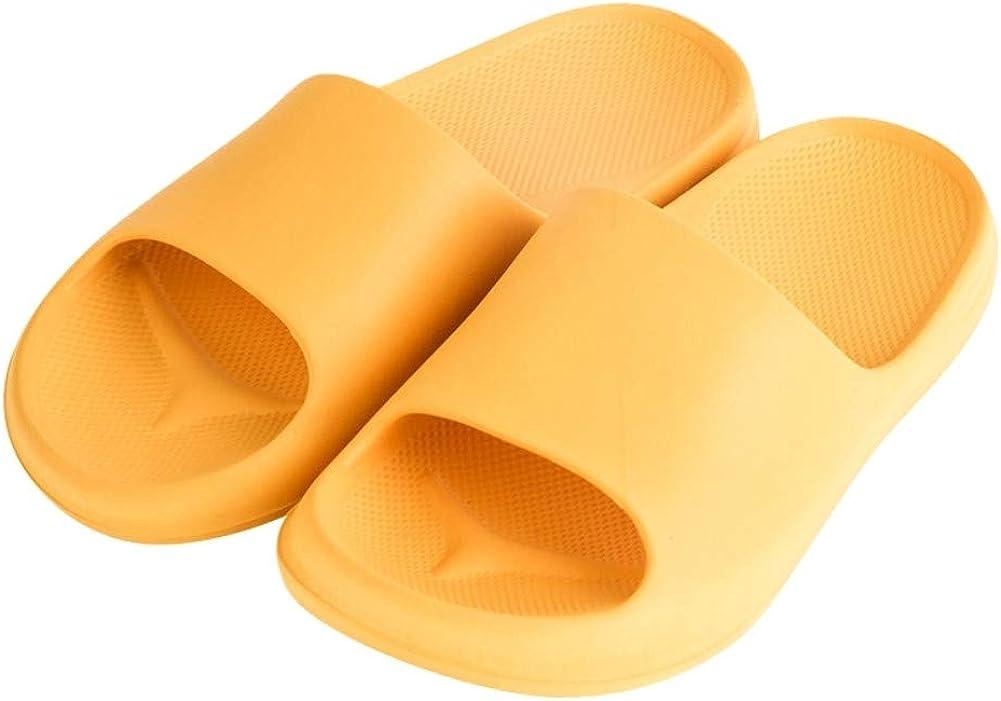 House Slipper Slides Sandal Shoes for Women and Unisex Men Bathroom Gym Pool Beach Non-Slip Comfort Quick Drying Soft Sole
