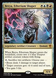 Magic: the Gathering - Breya, the Etherium Shaper (029/351) - Commander 2016 - Foil