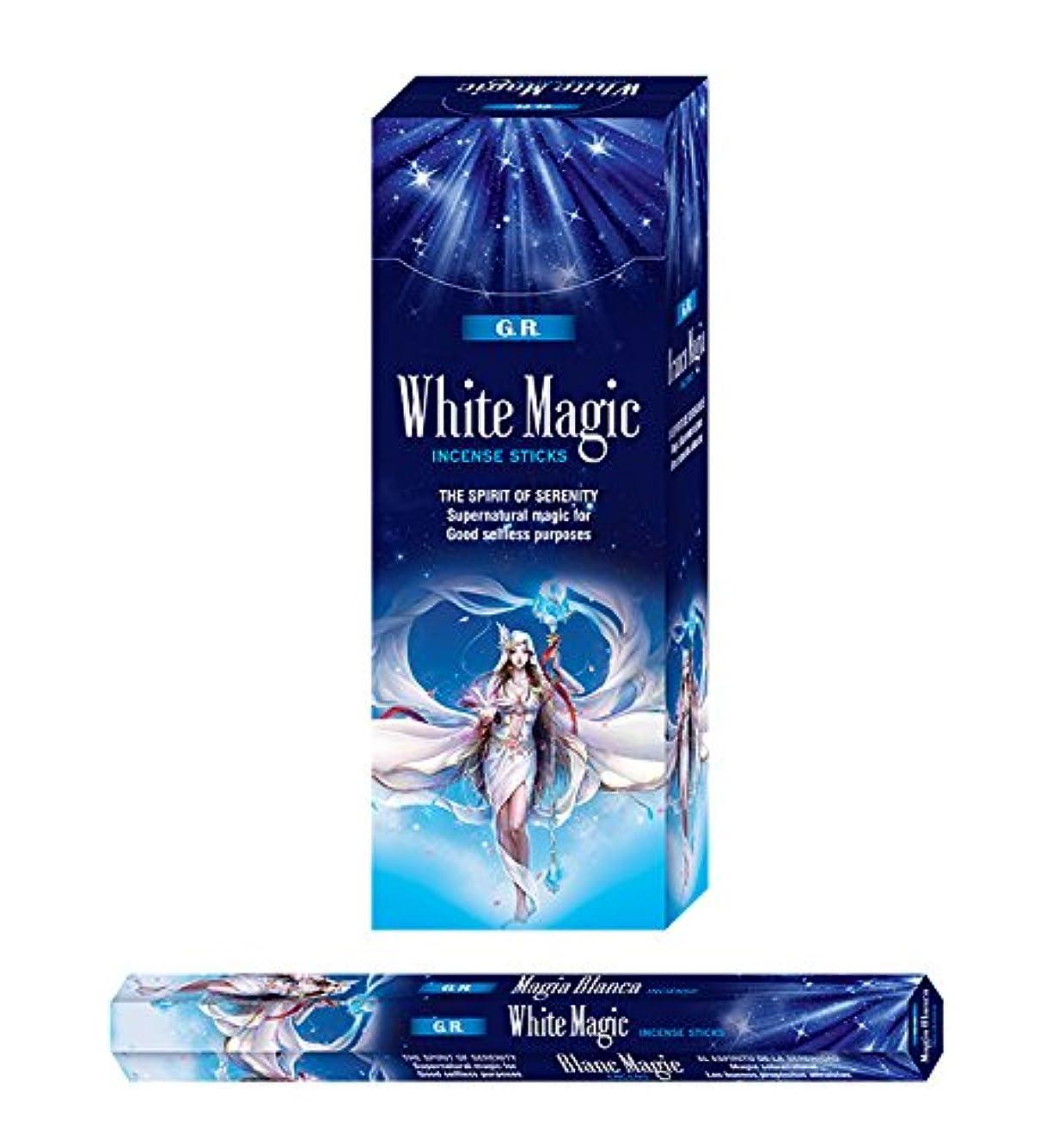 雑多な説得無効White Magic Incense-120 Sticks