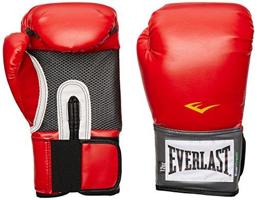 Everlast Pro Style Training Gloves (Red, 16 oz.)