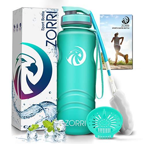 École Portable Gourdes Fitness Para Extérieur 800ml Rose Voyage et Camping Vlunt Bouteille deau Sport Eco Friendly et Plastique sans BPA