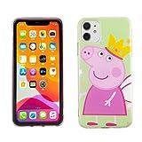 iPhone 11 6.1 Inch TPU Case CASEVEREST 3D Print Design Slim Fit Cover Peppa Fairy Pig IP 11