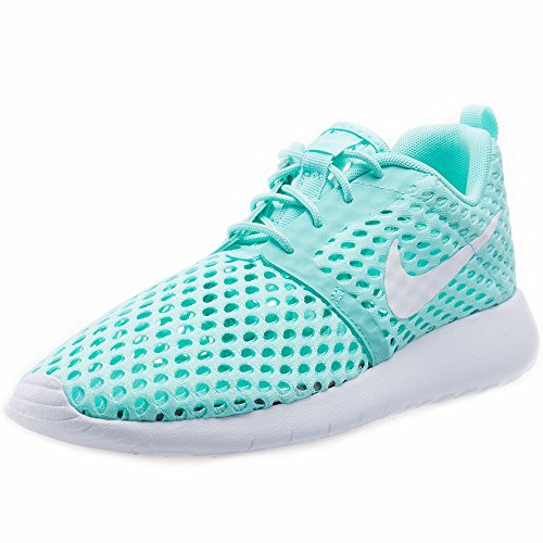 Nike Unisex-Kinder Roshe One Flight Weight (Gs) Sneakers, Turquesa (Turquesa (Hyper Turq / White)), 38 EU