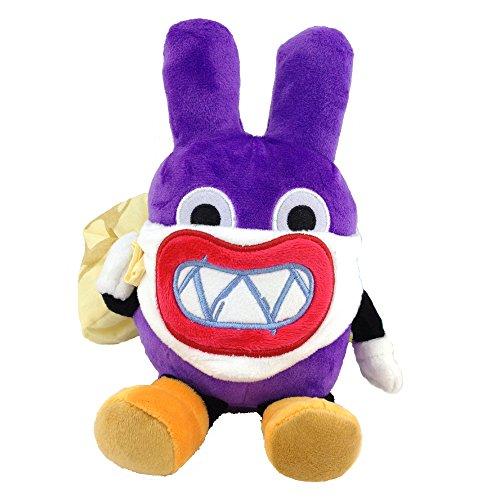 Yijinbo Nabbit Super Mario Bros Ladrn de conejo de peluche de peluche con figura suave de 17,7 cm
