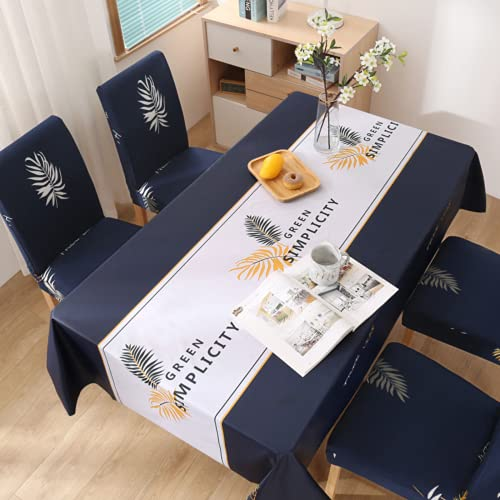 N\C Tablecloth Waterproof and Oil-Proof Disposable Table Set Tea Table Cloth
