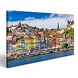 Bild Bilder auf Leinwand Altstadtsilhouette von der Anderen