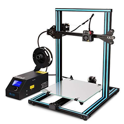 sainsmart 3d printers SainSmart x Creality CR-10 Semi-Assembled Aluminum 3D Printer with Extra Filament, Large Print Size 300x300x400mm