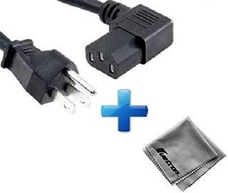 Zebra Eltron P310C Printer Compatible Huetron 10 ft Right Angled Power Cord