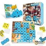 AniBlock puzzle challenger - diversión y forma creativa bloques stem juguetes para los niños, niños y niñas, de edades entre 4 y arriba, aplicación compatible interactivos realidad aumentada edición 4
