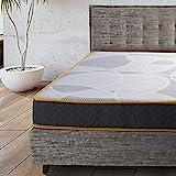 Comfy Line - Materasso Singolo 90x200 in Memory Foam h 21 cm. A 7 Zone Differenziate Ortopedico. Rivestimento Cotone Fresco e Traspirante. Made in Italy 100%