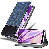 Cadorabo Hülle für Xiaomi Mi A2 LITE/RedMi 6 PRO in DUNKEL BLAU SCHWARZ - Handyhülle mit Magnetverschluss, Standfunktion & Kartenfach - Hülle Cover Schutzhülle Etui Tasche Book Klapp Style