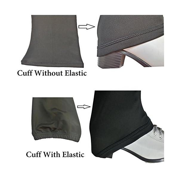Victoria's Challenge Black ice Skating Leggings Skate Pants Polartec | Thermal | Compression VCSP17