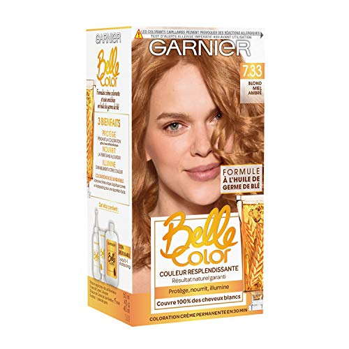 Garnier Belle Color Coloration Permanent 7.33 Blond Miel Ambre