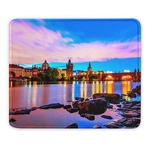 Puente de Carlos de Praga Checa Alfombrilla de ratón Regalo