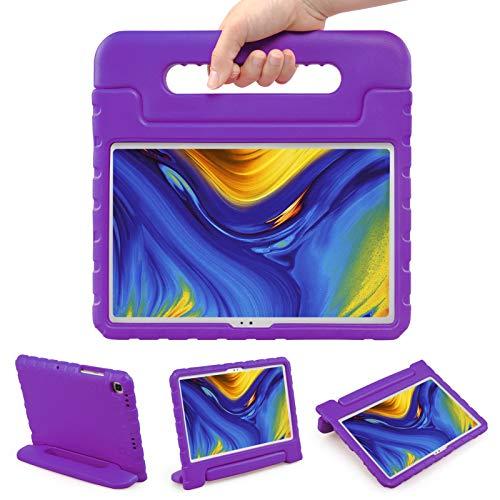 LEADSTAR Funda para Samsung Galaxy Tab A7 10.4-inch 2020, Ligero y Super Protective Antichoque Estuche Protector Diseñar Especialmente Manija Caso con Soporte para los Niños SM-T500 T505 T507, Púrpura