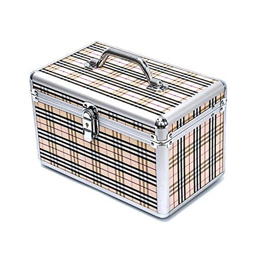 Trousse de maquillage Malette Maquillage, Portable, bandoulière Diagonale Multicouche de Grande capacité, boîte à Outils de Tatouage Professionnel pour Le Maquillage des Ongles