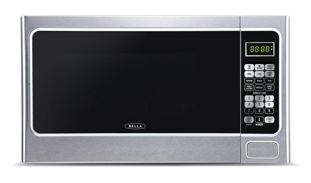 Bella BMO11ABTBKC 1000 Watt Microwave Stainless