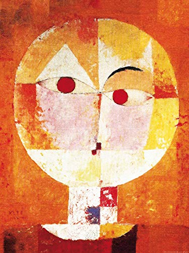 1art1 Paul Klee - Senecio, 1922 Poster Kunstdruck 80 x 60 cm