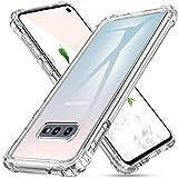 iMoshion kompatibel mit Samsung Galaxy S10e Hülle – Shockproof Hülle Handyhülle – Silikon Schutzhülle in Durchsichtig/Transparent [Verstärkte Ecken, Stoßfest, Dünn]