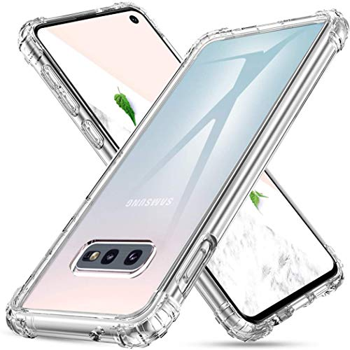 iMoshion kompatibel mit Samsung Galaxy S10e Hülle – Shockproof Case Handyhülle – Silikon Schutzhülle in Durchsichtig/Transparent [Verstärkte Ecken, Stoßfest, Dünn]