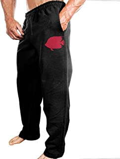 Mens Sports Pants Angel Fish Swimming Sweatpants With Fashion Protruding-body Design For Shopping Four-Seasons Casual Pants