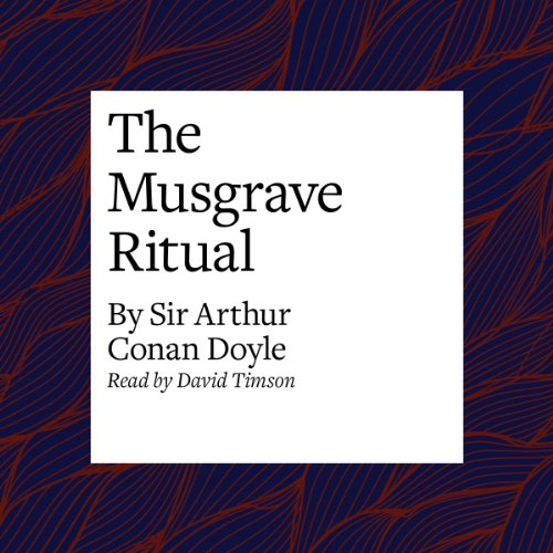 The Musgrave Ritual cover art
