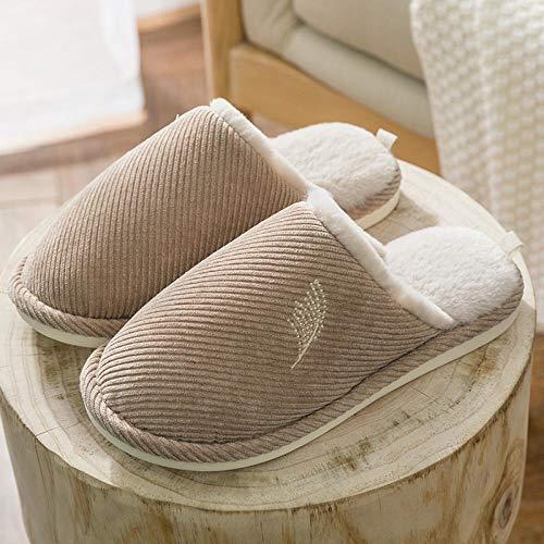 Cxypeng Zapatillas De Casa Mujer Pantuflas De Lujo,Calzado Interior de Invierno Antideslizante...