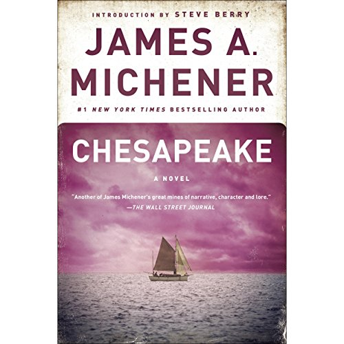 Chesapeake audiobook cover art