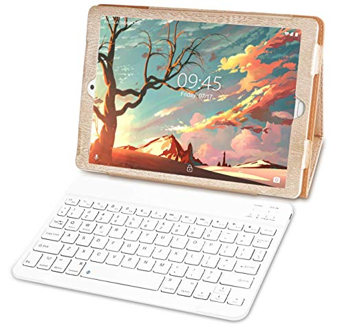 tablet octacore 4g Tablet 10 Pollici con Wifi Offerte Tablet PC LTE Dual SIM/WiFi tablet Android 8.1 con 3GB di RAM e 32GB ROM-(Sblocco Facciale