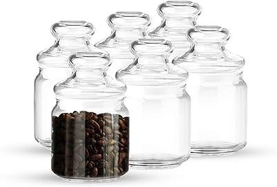 Ocean Pop Jar, 500ml, Set of 6